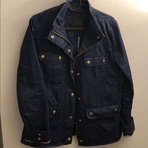 "J Crew ""Downtown Field"" Military Jacket"